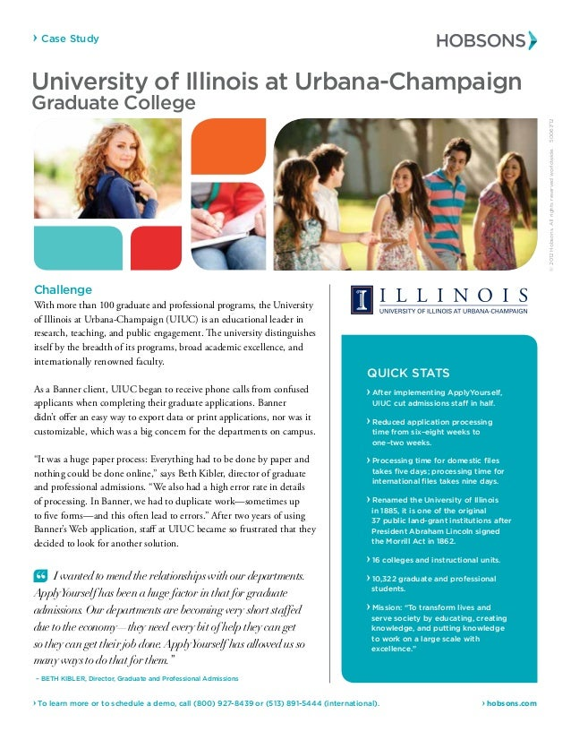 Case Study  hobsons.com To learn more or to schedule a demo, call (800) 927-8439 or (513) 891-5444 (international). Univer...