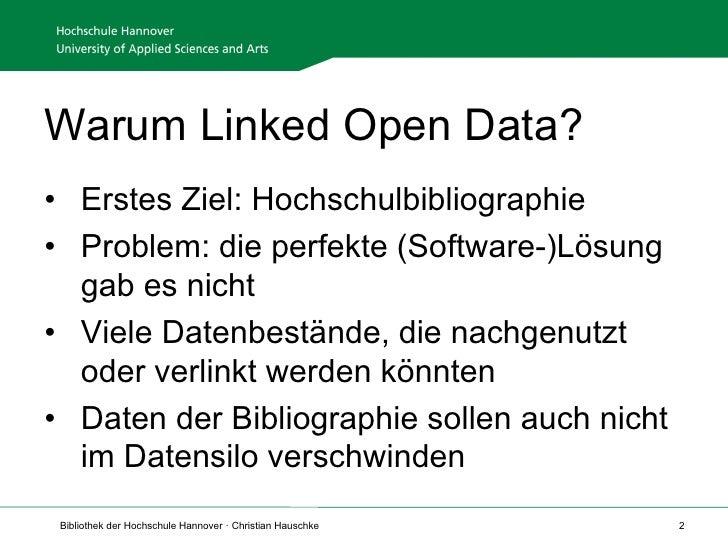 Linked Open Data an der HSH Slide 2