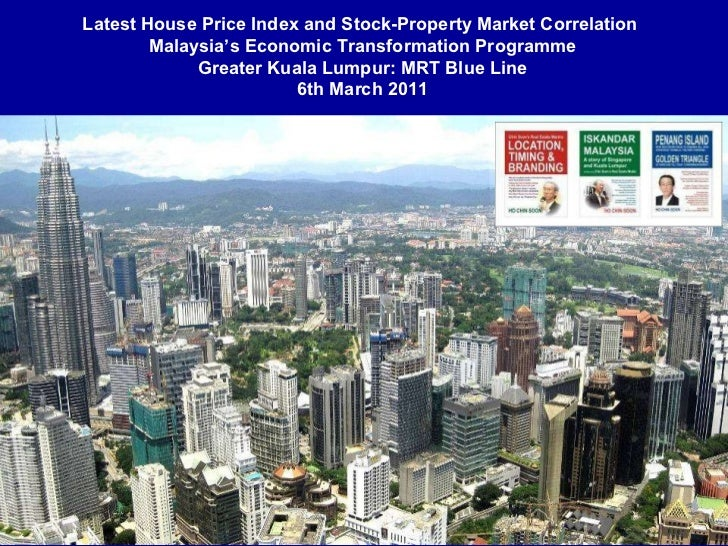 Latest House Price Index and Stock-Property Market Correlation  Malaysia's Economic Transformation Programme Greater Kuala...