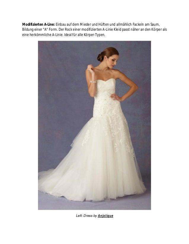 Ausgezeichnet Hochzeitskleider Für Körpertypen Galerie ...