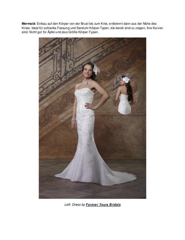 Hochzeitskleider 101 lernen sie die silhouetten