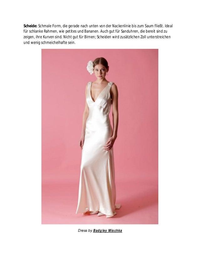 Groß Hochzeits Kleider Für Körpertypen Zeitgenössisch - Kleider ...