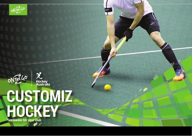 Teamwear for your club CUSTOMIZ HOCKEY