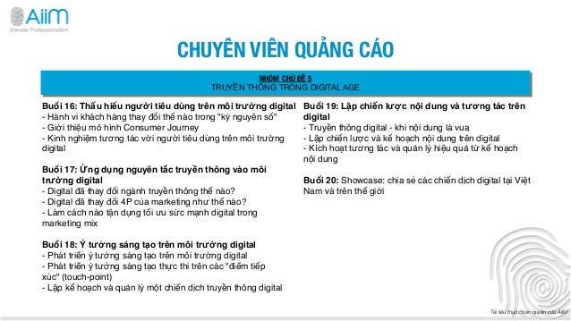 CHUYÊN VIÊN QUẢNG CÁO                                                 NHÓM CHỦ ĐỀ 5                                       ...