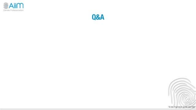 Q&A       Tài liệu thuộc bản quyền của AiiM