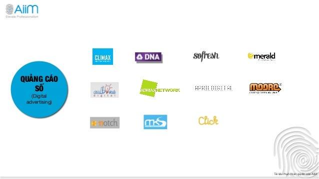 QUẢNG CÁO   SỐ   (Digital advertising)                 Tài liệu thuộc bản quyền của AiiM