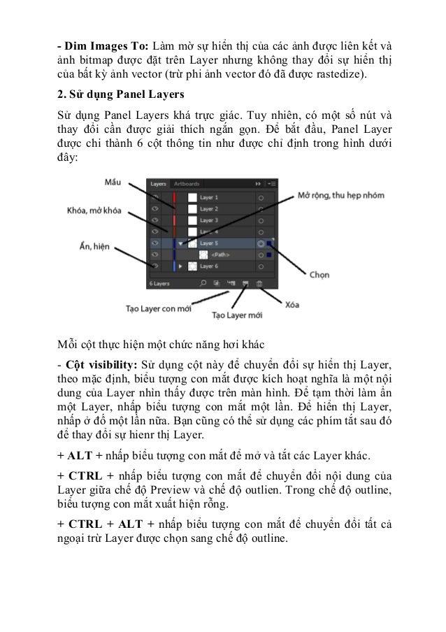 Giáo trình tự học illustrator cs6