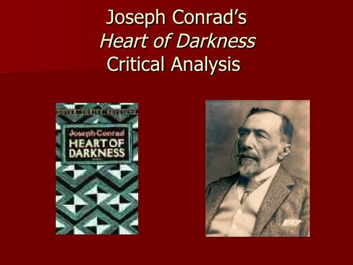 Joseph Conrad's Heart of Darkness Critical Analysis
