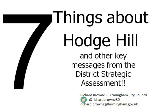 So what is the Strategic Assessment?  Download here