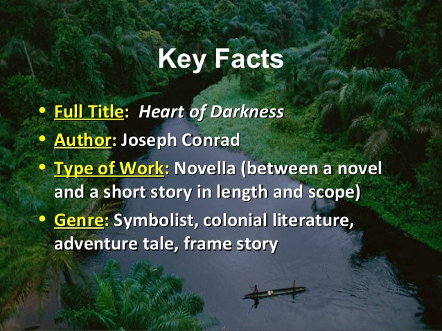 an analysis of the congo in the novel heard of darkness by joseph conrad Heart of darkness summary joseph conrad's 1899 novel  marlow discovers the rush for ivory in the congo river basin to be  heart of darkness: themes & analysis.