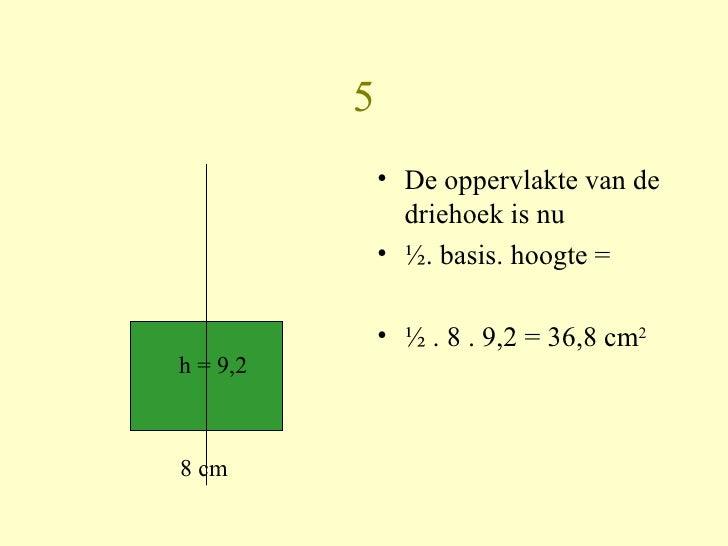 Hoe bereken je de oppervlakte van een gelijkbenige - Hoe je een eigentijdse inrichting van ...