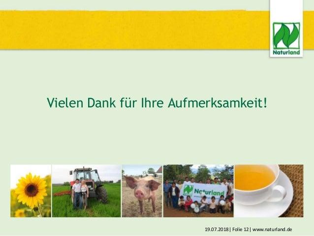 Umstellung auf ökologischen Landbau - Ein Ausweg aus der Krise !?