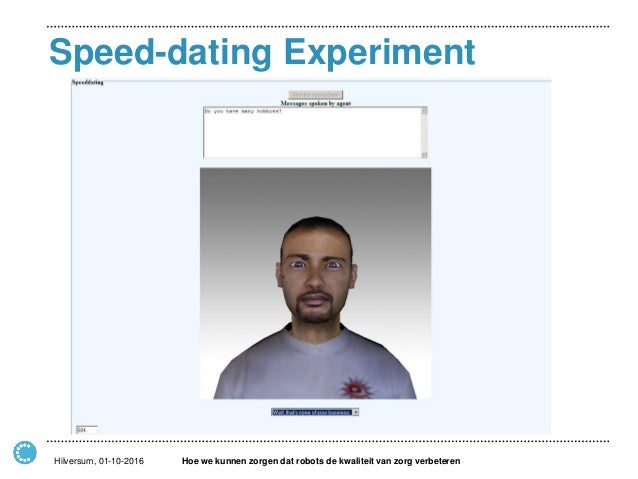 is speed dating goed of slecht
