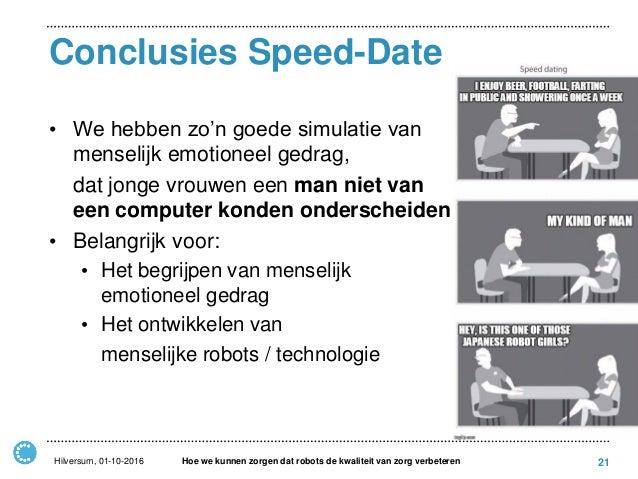 speed dating simulatie