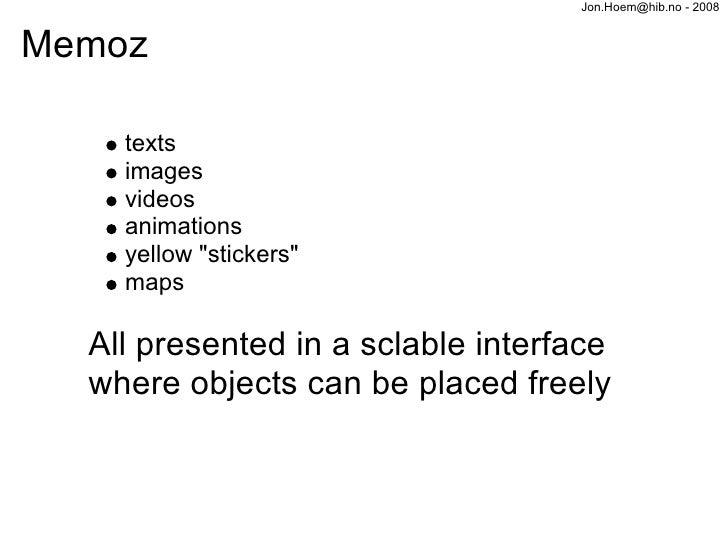 Hoem Blogtalk 2008 Slide 3