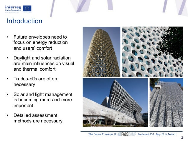 """Sabine Hoffmann, Technische Universität Kaiserslautern (DE) """"How facades impact thermal comfort – a new methodology for assessment"""" Slide 2"""