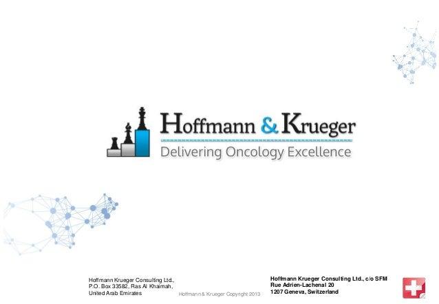 Hoffmann Krueger Consulting Ltd.,                                     Hoffmann Krueger Consulting Ltd., c/o SFMP.O. Box 33...