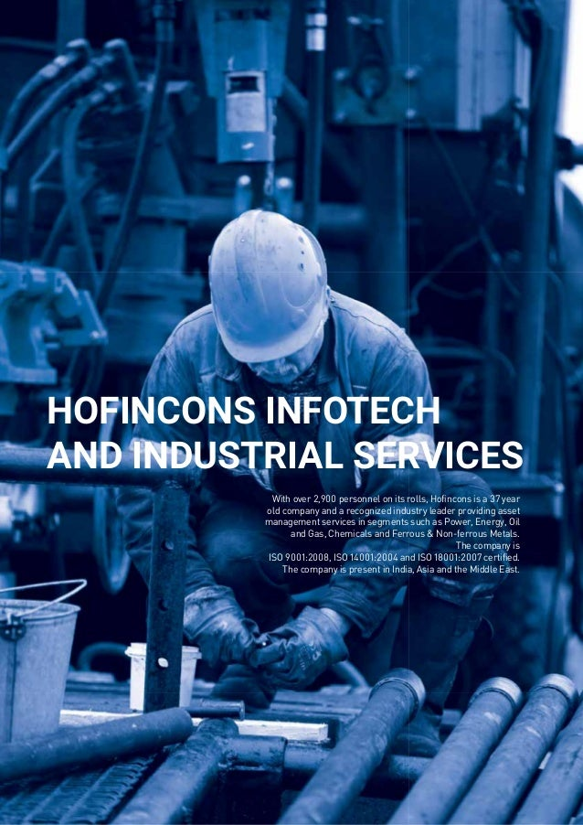 Hofincons, Operations and Maintenance Division