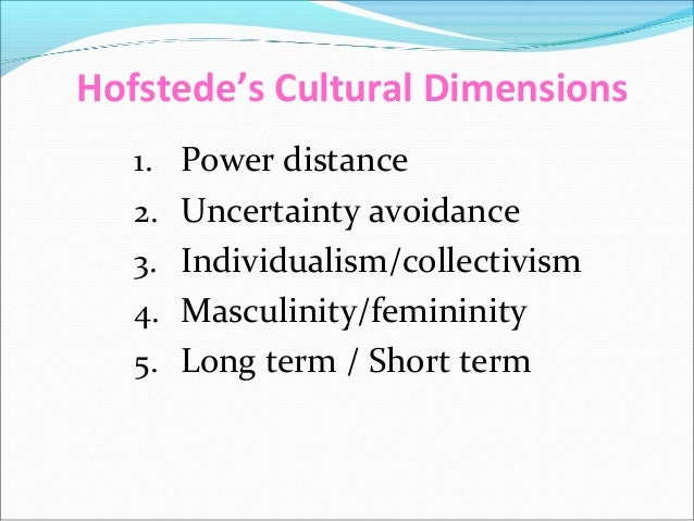 hofstede s dimension russia Collectivism and individualism in russian culture  collectivism and individualism in russian culture  coursera provides universal access to the world's.