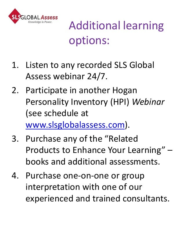 hogan assessment systems sample questions