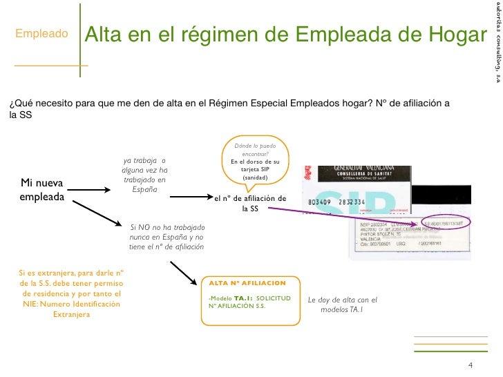 hogar 2012 guia legalizacion empleadas hogar presentacion