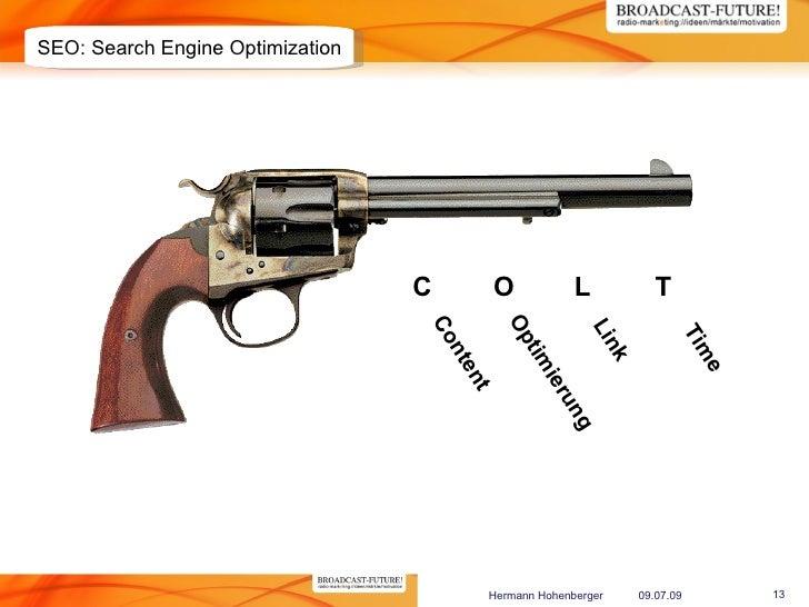 SEO: Search Engine Optimization                                       C        O             L              T             ...