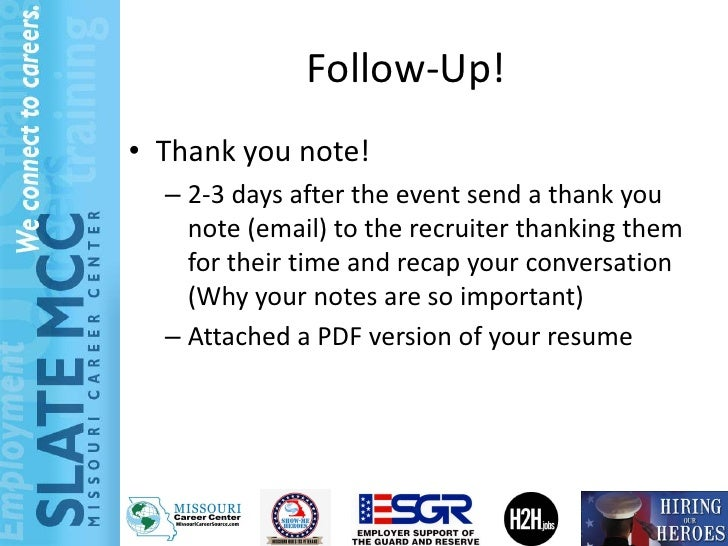 follow up email after job fair canre klonec co