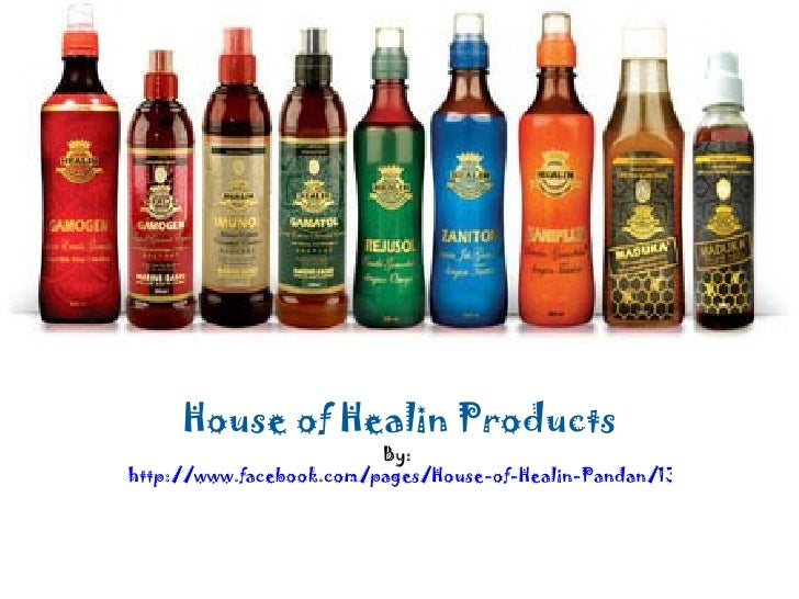 House of Healin Products                         By:http://www.facebook.com/pages/House-of-Healin-Pandan/13272297678283