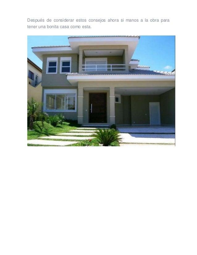 5 consejos para construir mi casa