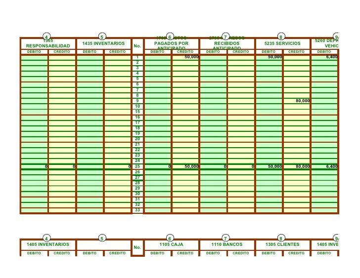 Hoja de trabajo en Excel