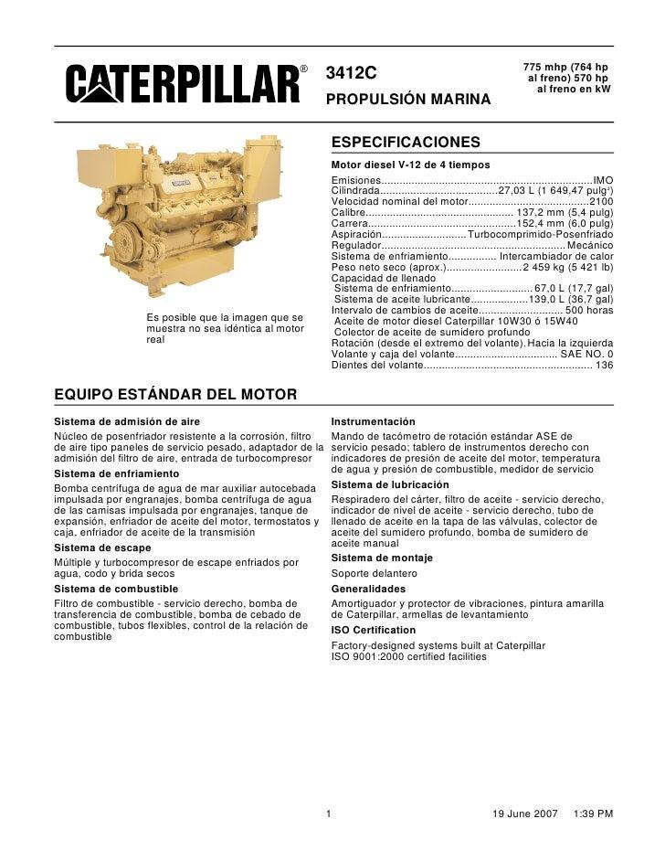 caterpillar engine 3412 38s13236 up service manual
