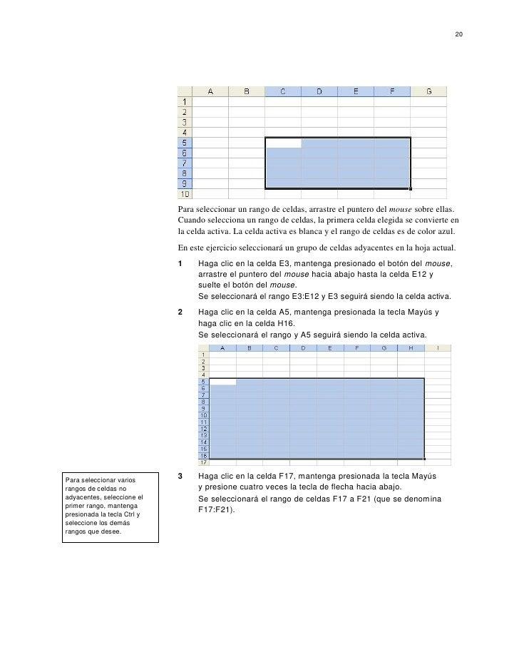 Tutorial de Hoja de calculo