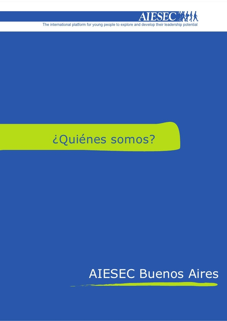 The international platform for young people to explore and develop their leadership potential           ¿Quiénes somos?   ...