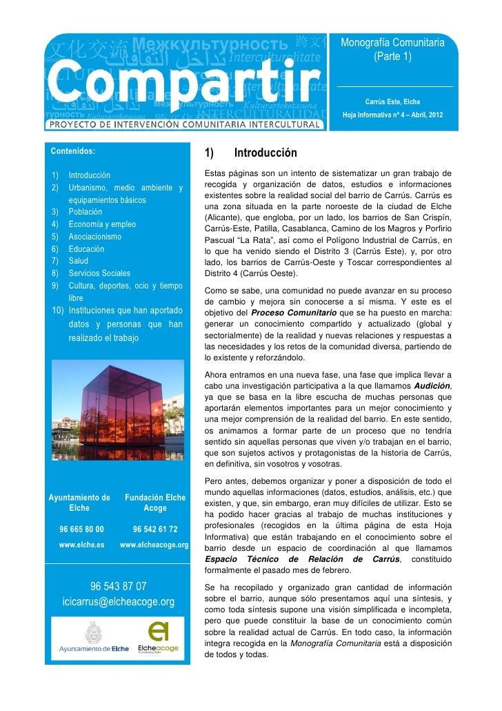 Monografía Comunitaria                                                                                     (Parte 1)      ...