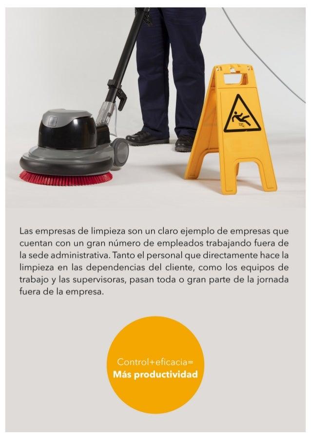 Movilidad inform tica para empresas de limpieza - Empresas de limpieza en baza ...