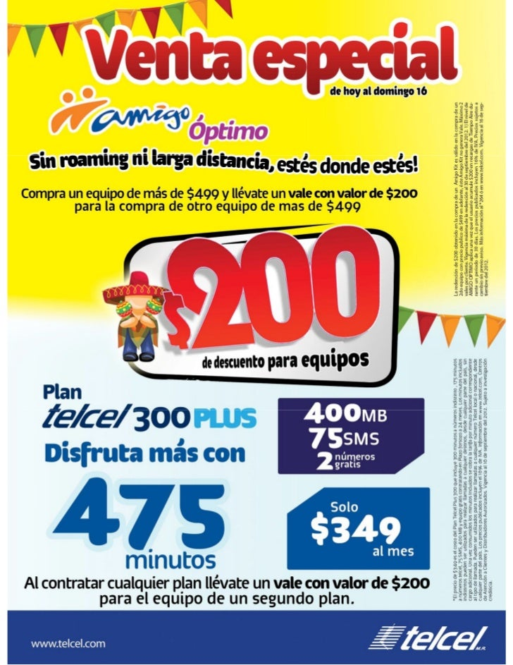 Hoja r2 venta especial en prepago y pospago (13 al 16 septiembre '12)