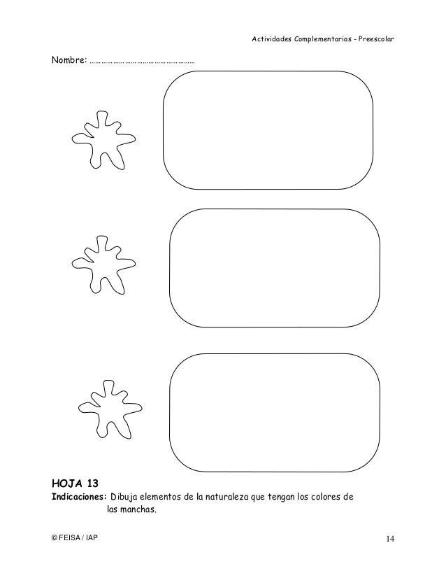 Bonito Hojas De Color Preescolar Elaboración - Dibujos Para Colorear ...