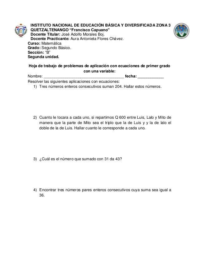 Excepcional Enteros Hoja De Trabajo Imagen - hojas de trabajo para ...
