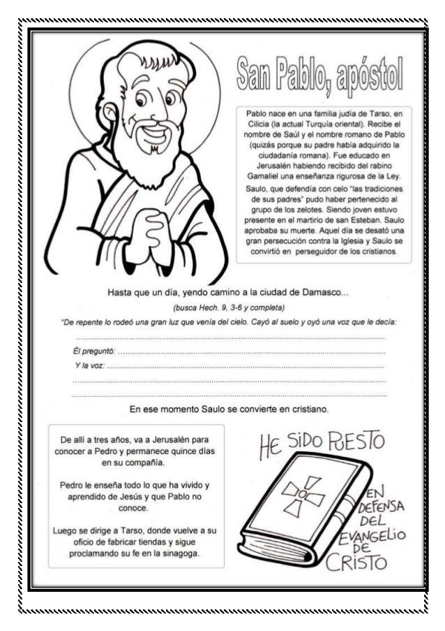 Temas De Religion Para 5 Grado De Primaria