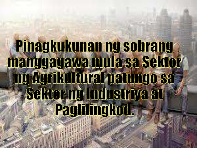 1. Pagliit ng lupang pansakahan. Ang patuloy na paglaki ng populasyon, paglawak ng panirahan, komersiyo at industriya ay n...
