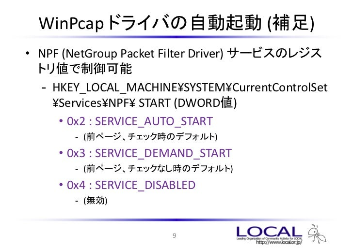 Drivers AvFw Packet Filter Driver