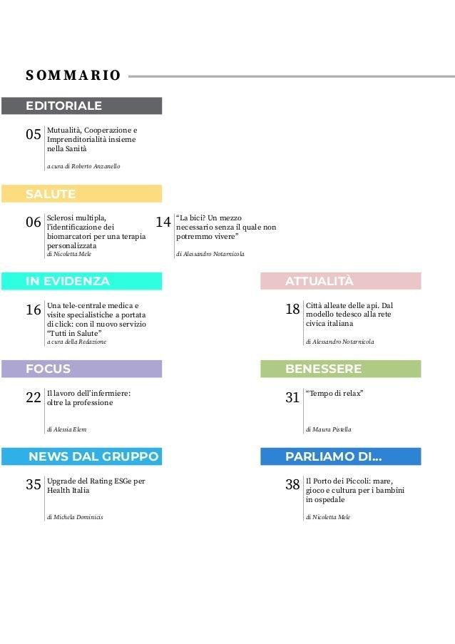 Health Online 43 - Maggio/Giugno 2021 Slide 3