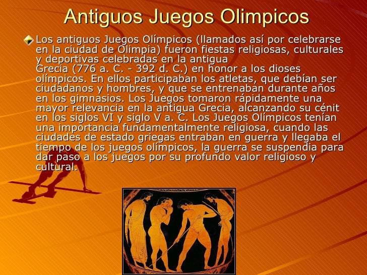 Juegos Olimpicos Power Point