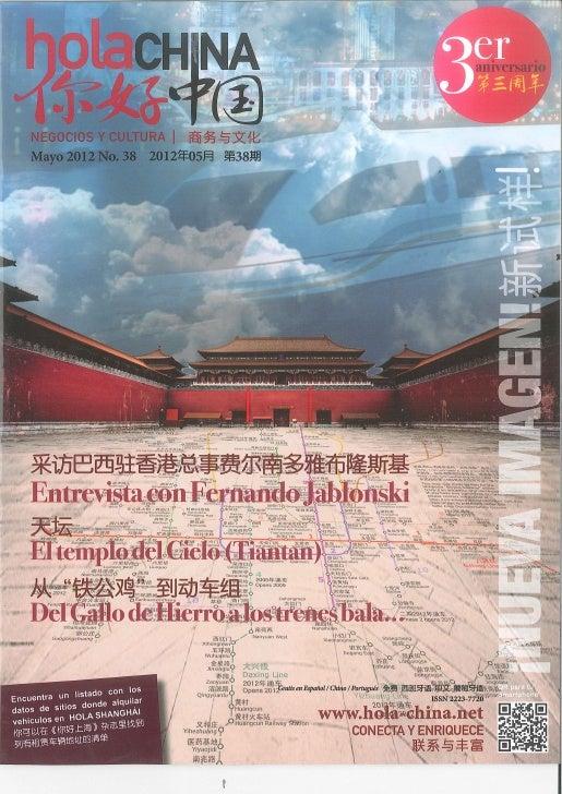 Hola China - May 2012