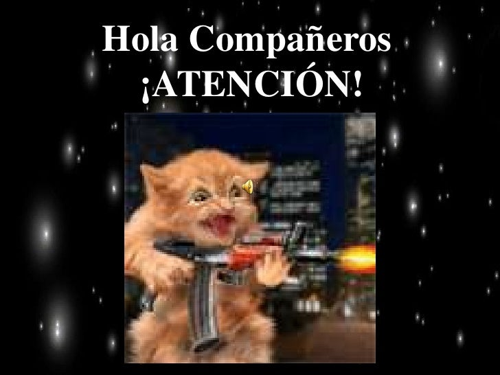 Hola Compañeros ¡ATENCIÓN!<br />