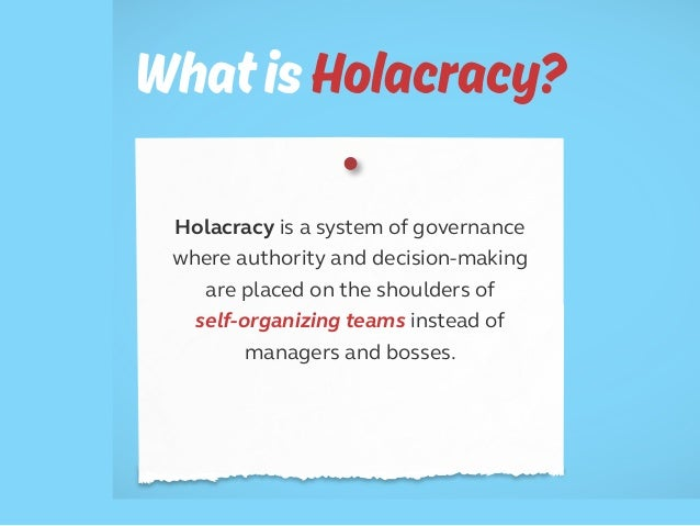 5 Reasons Why Holacracy is Failing. Is it Time to Say Goodbye to Holacracy (and Zappos)? Slide 2