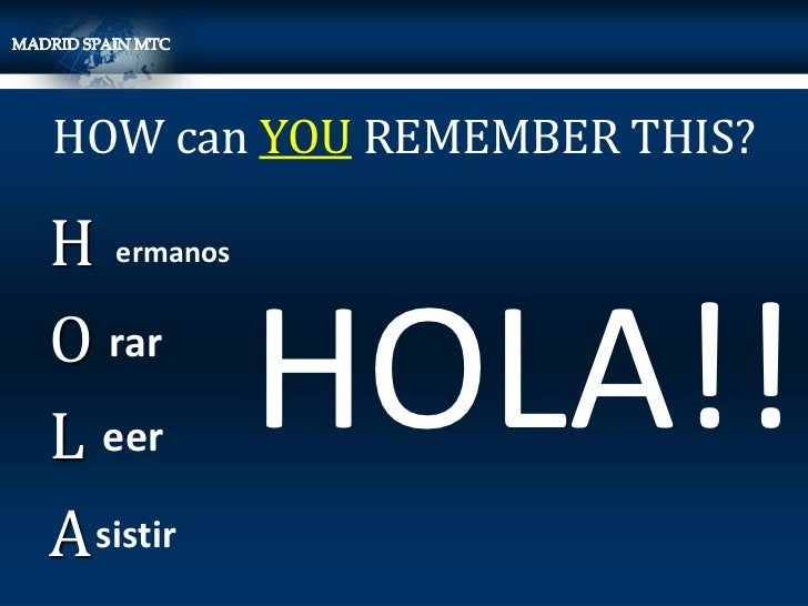 HOW can YOU REMEMBER THIS?H ermanosO rarL eer       HOLA!!A sistir