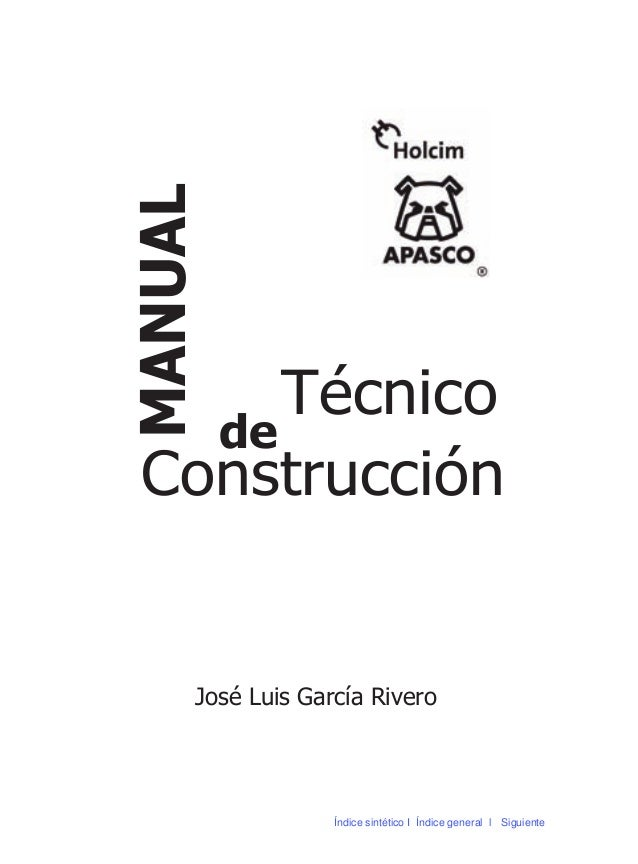 Manual De Construccion Mi Casa Apasco