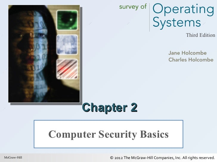 Chapter 2 Computer Security Basics McGraw-Hill