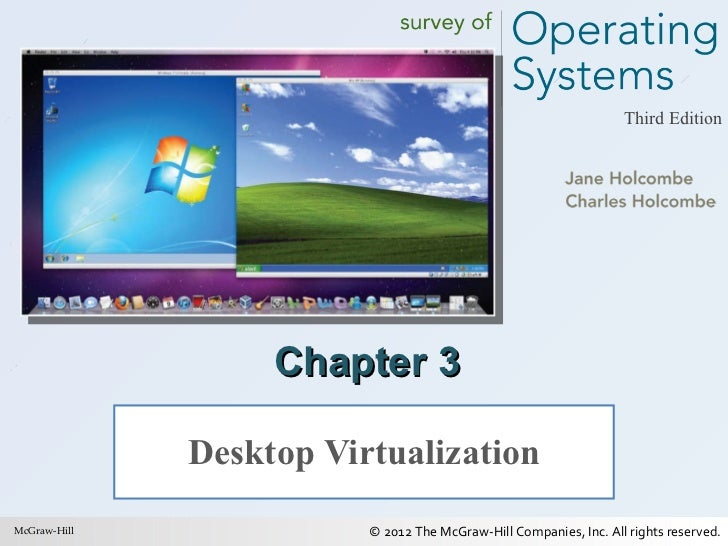 Survey of operating systems by charles holcombe.